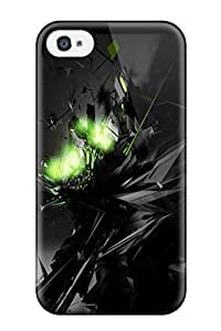 2015 4950212K75118619 Faddish Dark Case Cover For Iphone 4/4s