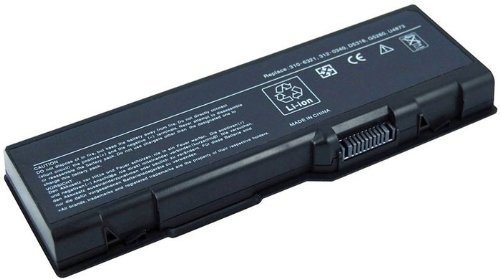 Laptop Replacement Battery, 6 cells, for Dell Inspiron 6000 9200 9300 9400 E1705, Inspiron XPS Gen 2, Replacement for parts 310-6321 310-6322 312-0339 312-0340 312-0348 312-0349 312-0350 C5974 D5318 F5635 G5260 G5266 U4873 GG574 - 0349 Li Ion Battery
