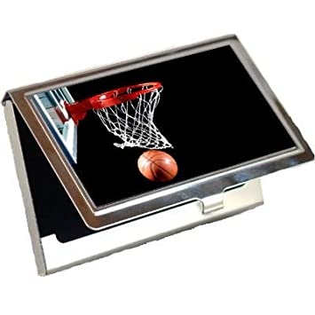 Amazon basketball business card holder office products basketball business card holder reheart Images