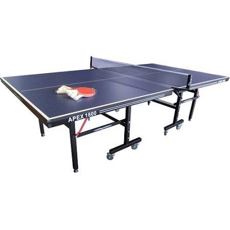 Playcraft Apex 1800 Indoor Table Tennis Table, Black by Playcraft