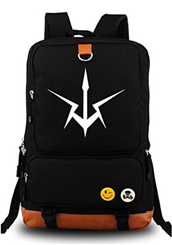 Gumstyle Anime Code Geass Luminous Large Capacity School Bag Cosplay Backpack Black (Code Geass Contacts)