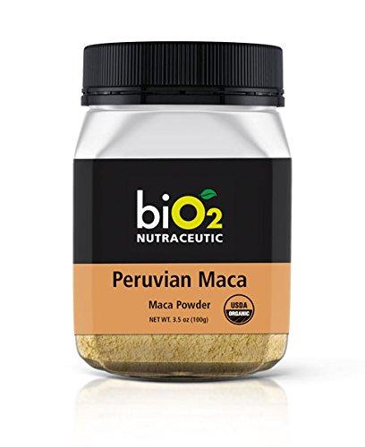 biO2 Nutraceutic Powder (Peruvian Maca) 3.5 oz (100 g) Organic Peruvian Maca