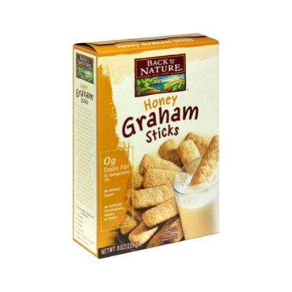 Back To Nature Honey Graham Sticks, 8oz, 2 pk by Back to Nature