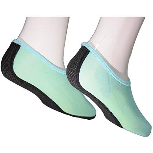 Barfuß Minze Schuhe Rutschfest Leicht Schwimmschuhe Cokar Schuhe Damen Surfschuhe Unisex Aquaschuhe Strandschuhe Wasserschuhe Badeschuhe Weich Wassersport für Yoga Herren 1OIU8q