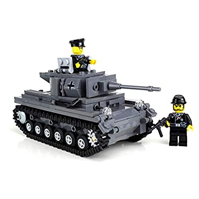 Battle Brick Deluxe German Panzer IV Custom Set: Toys & Games