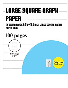 buy large square graph paper book online at low prices in india