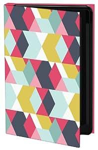 Keka UK Heather Dutton Classic - Funda con tapa para Galaxy S4, diseño Tribeca Nightlife