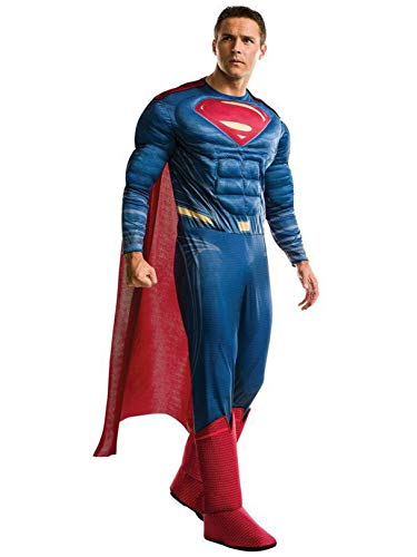 Rubie's Men's Superman Adult Deluxe Costume, As As Shown, Extra-Large -