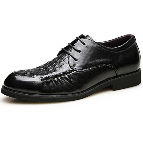 Scarpe Stringate Uomo Scarpe Derby Lavorate Uomo Piatte Con Oxford Dress Office Scarpe Retr