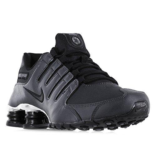 Nike Men's Shox NZ PRM Anthracite/Black/Black/Cl Grey Run...