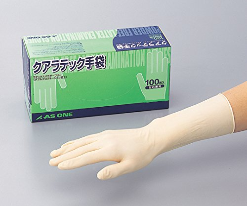 アズワン8-4053-13クアラテック手袋(DXパウダーフリー)S10箱(1000枚入) B07BD4GRM9