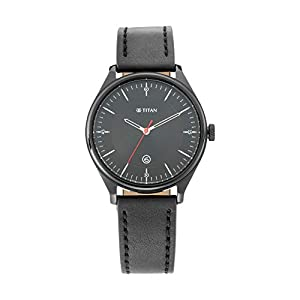 Titan Analog Black Dial Men's Watch-1834NL01 / 1834NL01