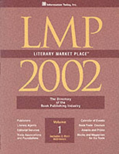 Literary Marketplace 2002  The Directory Of The American Book Publishing Industry With Industry Yellowpages