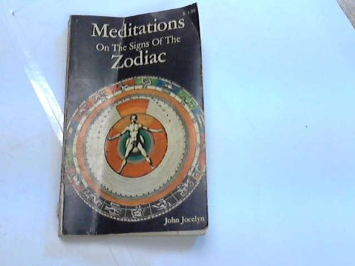 Meditations On The Signs Of The Zodiac, JOHN JOCELYN