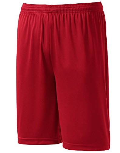 Joes USA Mens Or Youth Basketball Shorts - Moisture Wicking Shorts.Youth XS - Adult 4XL