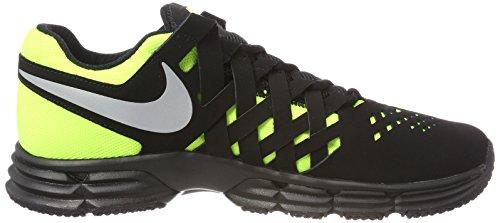 Scarpe Nike Uomo Metallic Fitness Black Fingertrap Lunar TR Silver da Volt tq7pw
