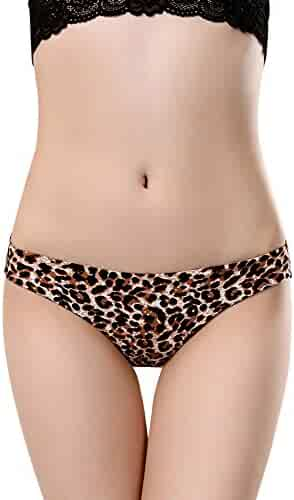 d67cad482ac5 Yaseking Hollow Lace Printing Sexy Briefs Panties, Women Seamless Cotton Panty  Underwear