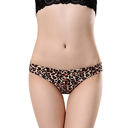 LIEJIE Women Lingerie Corset Bandage Hollow Underwire Panties Seamless Cotton Panty Briefs Sleepwear Set Lace Flower Push Up Top Bra Pants Underwear (Brown, XL)
