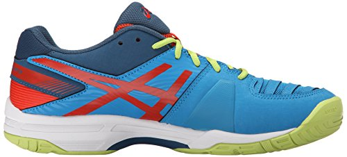 Asics Heren Gel-oplossing Slag 3 Basket Methylblauw / Orange / Lime