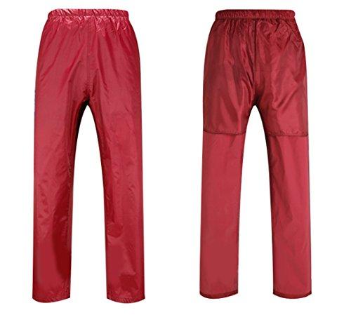 Rouge Impermable SK PVC Pantalon et Veste Studio Travail Homme de Combinaison wBxqv8rw6