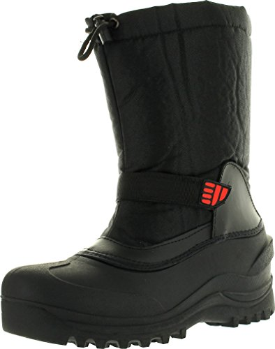 ClimaTex X Mens YC5 Snow Boot, Black, 9 M US