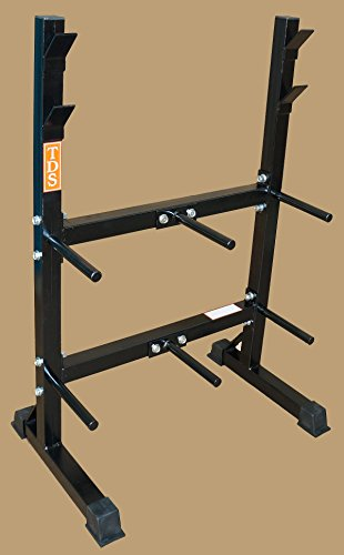 Front Loading Rack System for Standard Plates & Bars by TDS