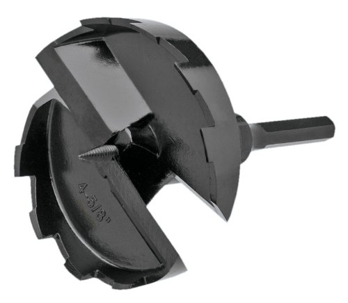 Steelex D3654 4-5/8-Inch Heavy Duty Forstner Bit with Screw Tip
