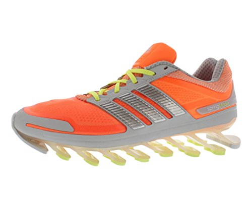 adidas Performance Women's Springblade W Running Shoe, Glow Orange/Silver/Glow, 7.5 M US