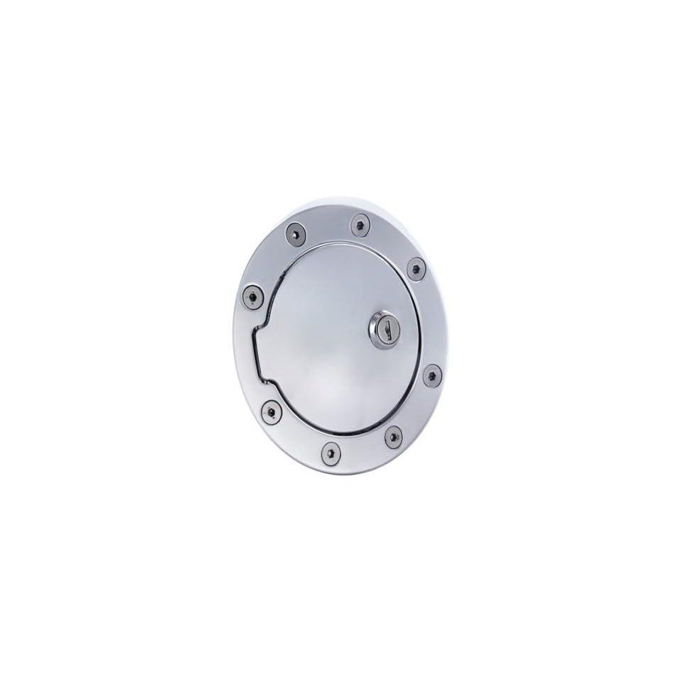 All Sales Race Style Billet Fuel Dr 5 3/4 Ring O.D. 4 1/8 Door O.D. Polished Locking