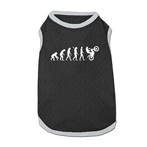 PET-W1FX Evolution Motocross Pet Sleeveless Puppy Shirt For Small Dog Cat (Evolution Sleeveless)