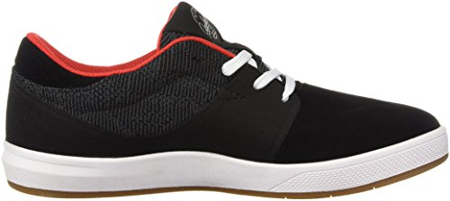 Globe Hombres Mahalo Sg Skateboarding Shoe Black Knit / Red