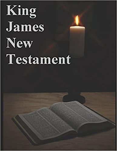 Book King James New Testament Bible: God's Message of Salvation, Found in the King James New Testament Bible
