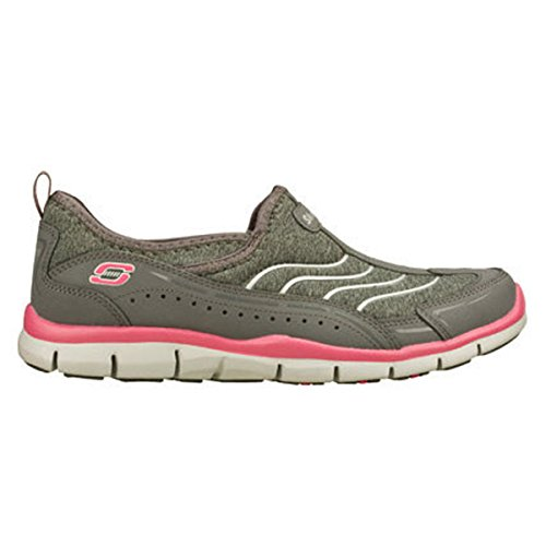 Skechers Gratis Staycation Grigio / Rosa Caldo