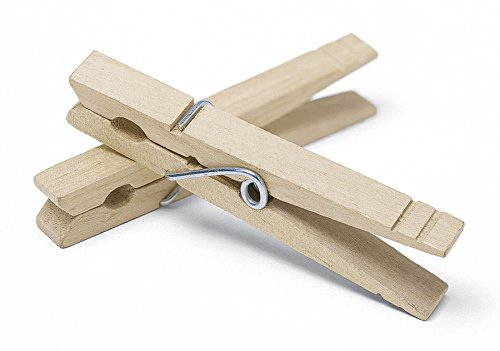 (Whitmor Wooden Clothespins Set of 50)