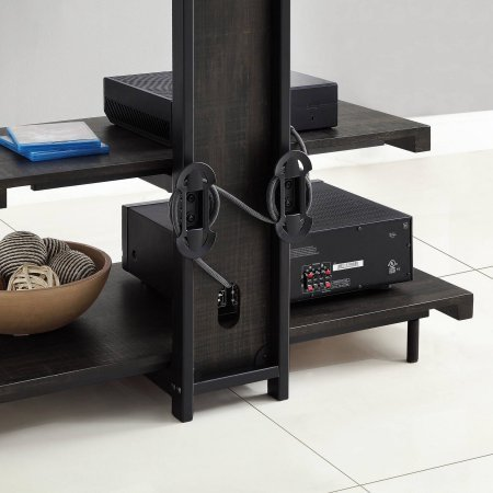 whalen 2 shelf tv stand with mount for tvs up to 50 deals. Black Bedroom Furniture Sets. Home Design Ideas