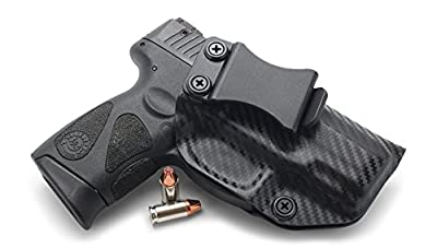 Concealment Express IWB KYDEX Holster: fits Taurus 111/140 Millennium G2 & G2C - Custom Fit - US Made - Inside Waistband - Adj. Cant/Retention