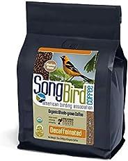 SongBird Coffee American Birding Association Decaf Medium Roast Organic, Shade Grown Bird Friendly Coffee (Dec