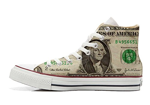 Converse Customized Adulte - chaussures coutume (produit artisanal) Dollaro USA