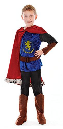 Medium Boys Fantasy Prince (Child Prince Charming Costume Uk)