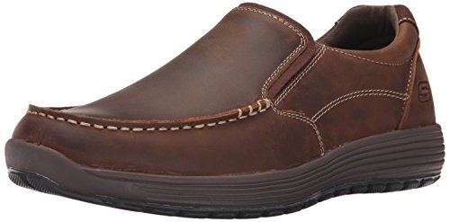 Mocassino Da Uomo Mens Venlo Perlo Mocassino Slip-on Marrone Scuro