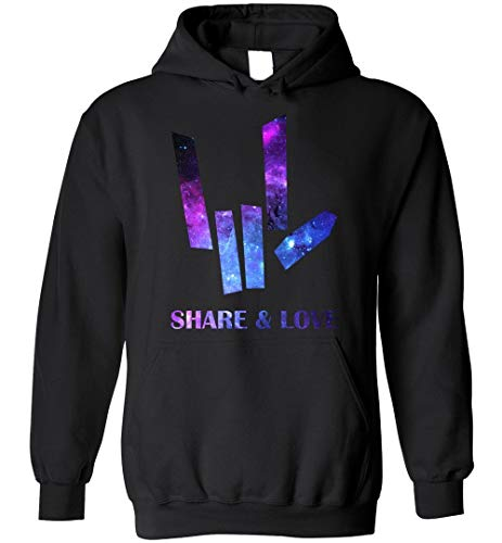 Share & Love ASL Hoodie for Man Woman and Kids Blend Hoodie