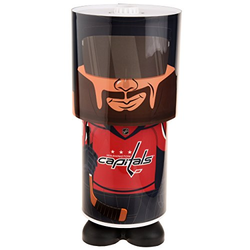 Washington Capitals Nhl Light (NHL Washington Capitals Unisex Desk Lamp, One Size)