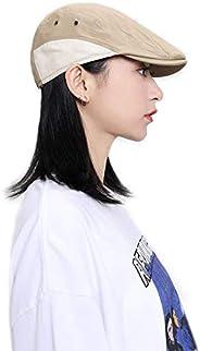 Croogo Ivy Gatsby Cap Newsboy Flat Cap Hooligan Driver Hat Hunting Cabbie Cap Splice Foldable Beret Hat for Me