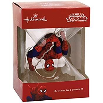Hallmark Marvel Ultimate Spider-Man Christmas Ornament - Amazon.com: Hallmark Marvel Ultimate Spider-Man Christmas Ornament
