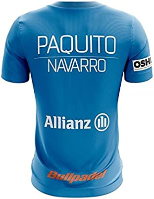 Bull padel Camiseta Ternate Paquito Navarro 2018