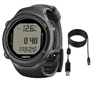Suunto d4i novo dive watch with usb pc download kit black watches - Suunto dive watch ...