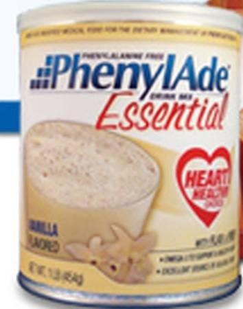 PhenylAde Essential Drink Mix - 1lb - Vanilla