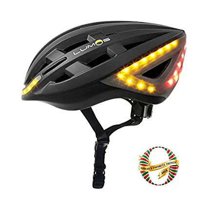 Lumos Smart Bike Helmet with Wireless Turn Signal Handlebar Remote and  Built-in Motion Sensor – 70 LEDs on Front ec55c44d0