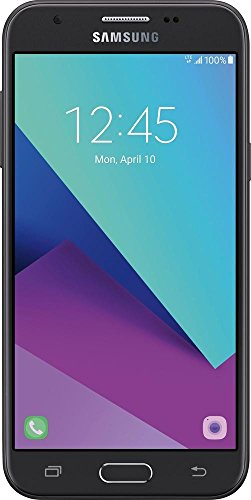TracFone - Samsung Galaxy J3 Luna Pro 4G LTE with 16GB Memory Prepaid Cell Phone - Black
