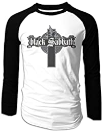 Greatest Hits Black Sabbath Man Long Sleeve T Shirt Raglan Baseball